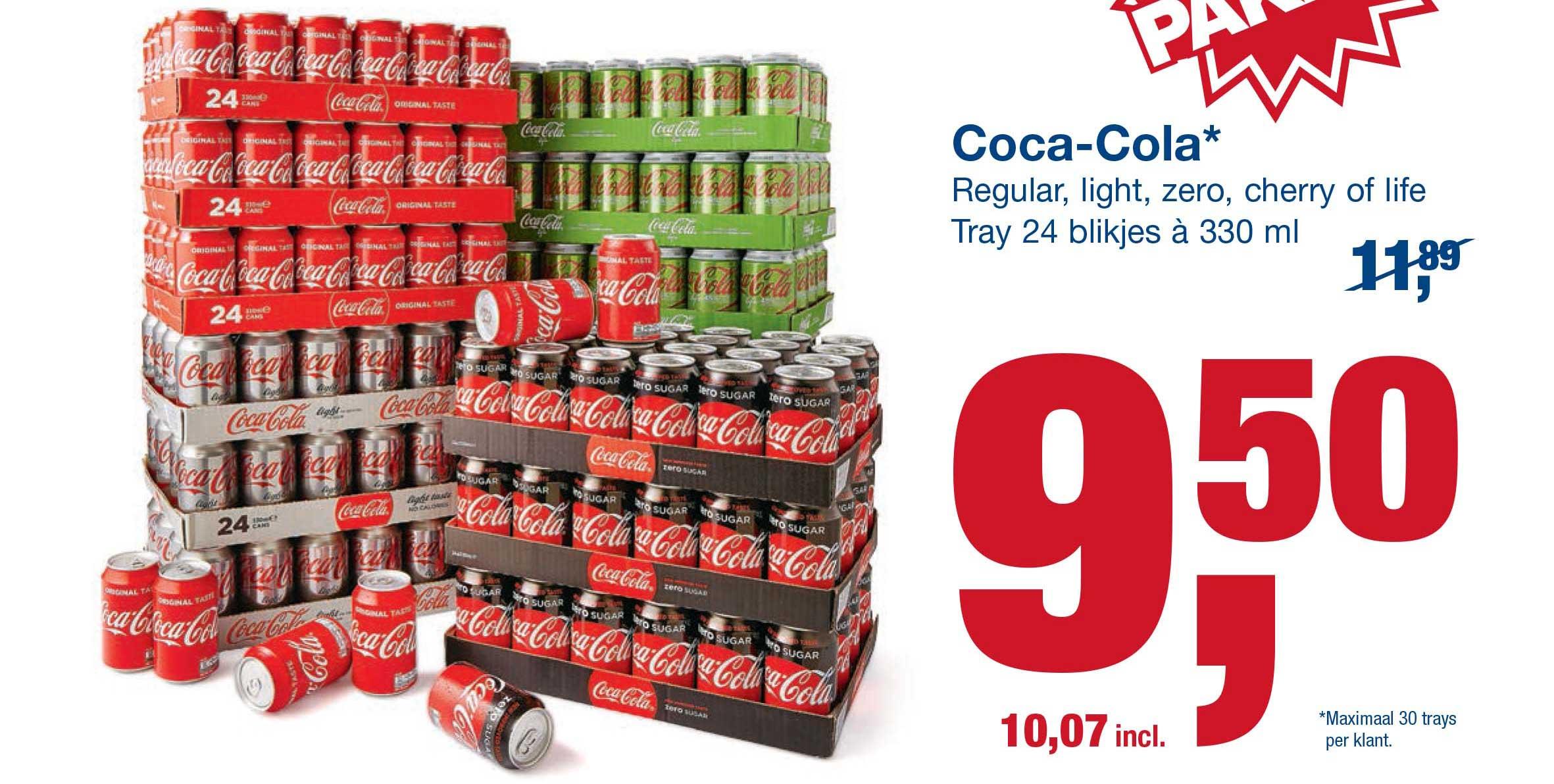 Makro Coca Cola Tray 24 Blikjes