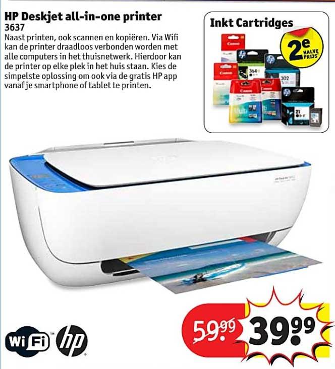 Kruidvat HP Deskjet All In One Printer