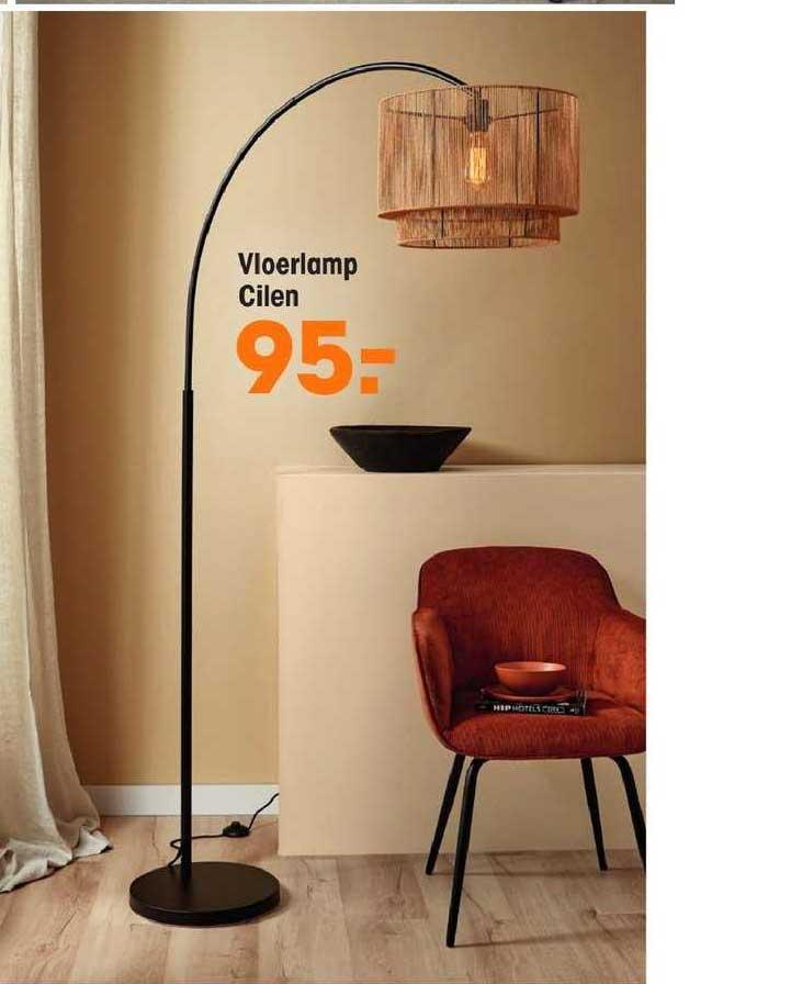 Kwantum Vloerlamp Cilen