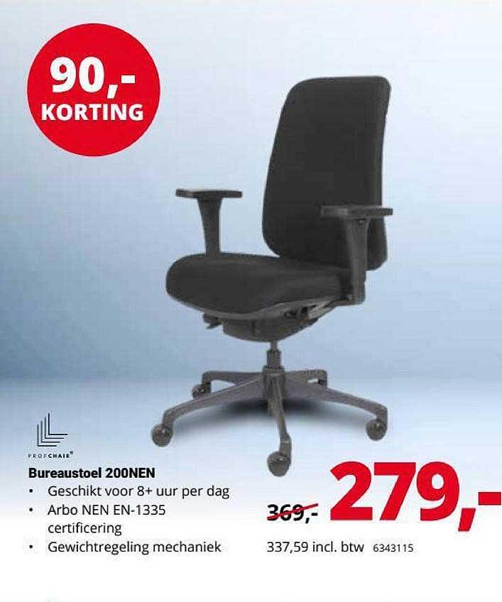 Office Centre Bureaustoel 200NEN 90,- Korting