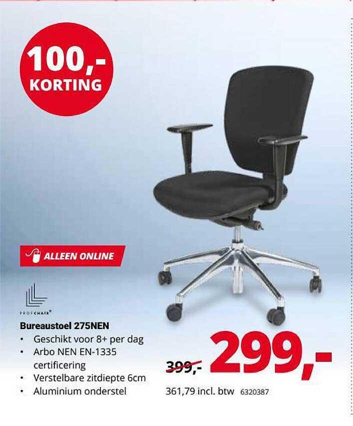 Office Centre Bureaustoel 275NEN 100,- Korting
