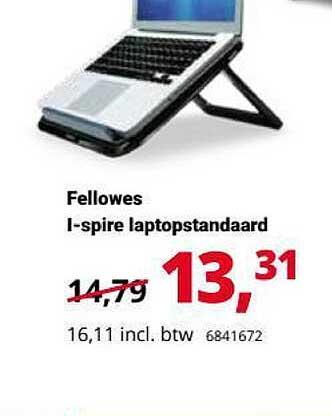 Office Centre Fellowes I-Spire Laptopstandaard