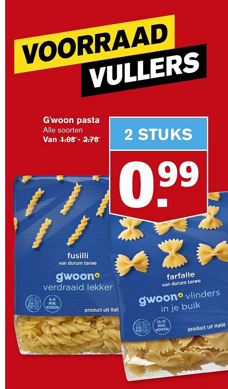 Hoogvliet G'woon Pasta