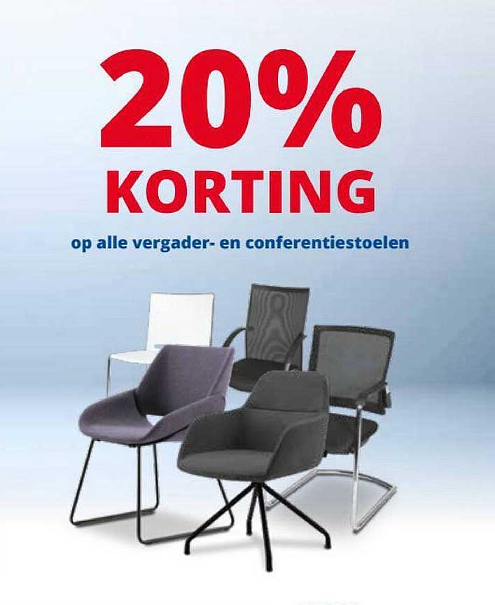 Office Centre Op Alle Vergader- En Conferentiestoelen 20% Korting