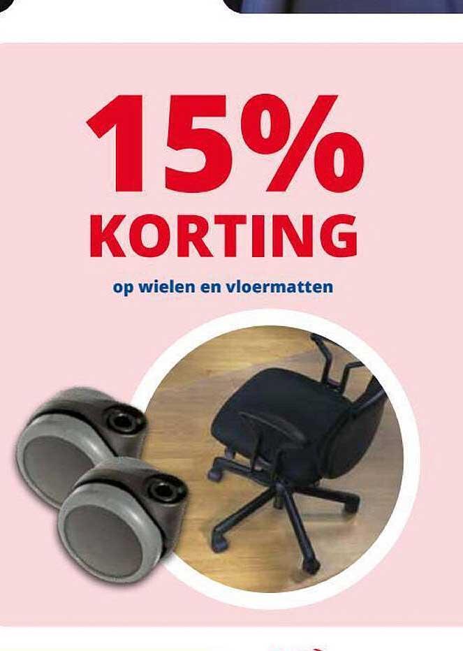 Office Centre Op Wielen En Vloermatten 15% Korting