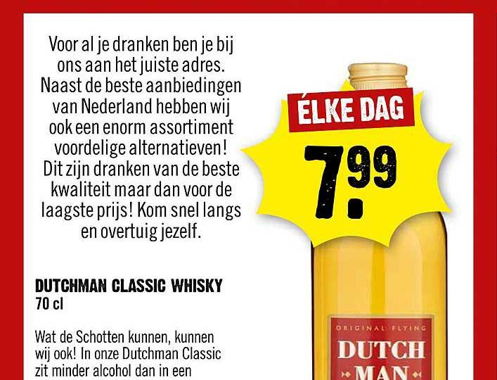 Dirck III Dutchman Classic Whisky