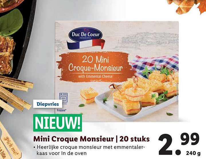 Lidl Mini Croque Monsieur