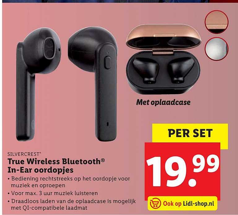 Lidl Silvercrest True Wireless Bluetooth C