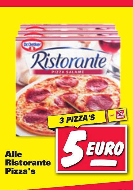 Nettorama Alle Ristorante Pizza's Salame
