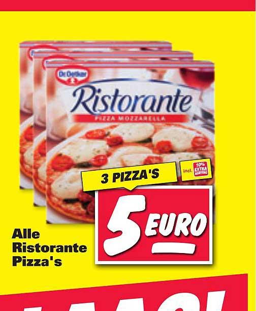 Nettorama Alle Ristorante Pizza's Mozzarella