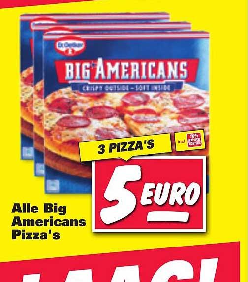 Nettorama Alle Ristorante Pizza's Crispy Outside - Soft Inside