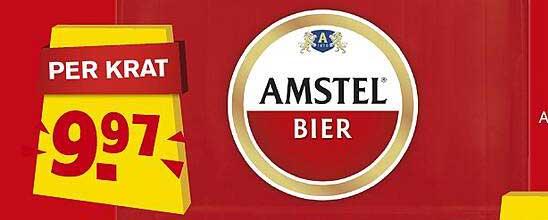 Hoogvliet Amstel Bier