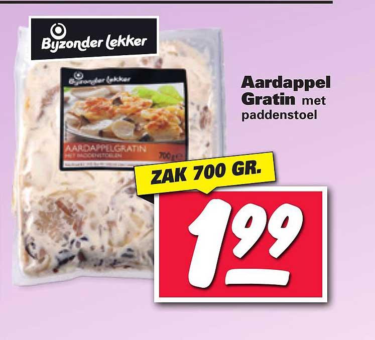Nettorama Bijzonder Lekker Aardappel Gratin Met Paddenstoel
