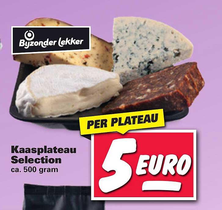 Nettorama Bijzonder Lekker Kaasplateau Selection