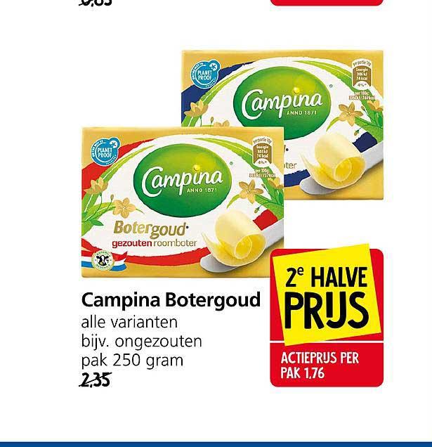 Jan Linders Campina Botergoud