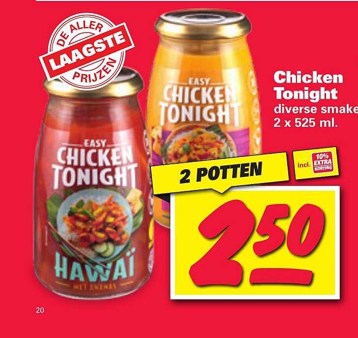 Nettorama Chicken Tonight