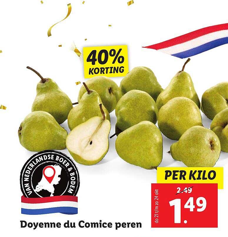 Lidl Doyenne Du Comice Peren 40% Korting