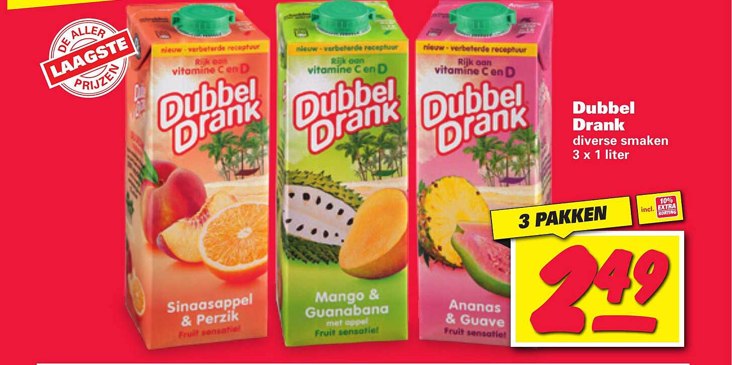 Nettorama Dubbel Drank