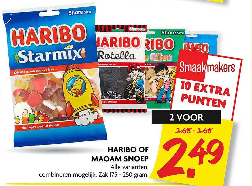 DekaMarkt Haribo Of Maoam Snoep