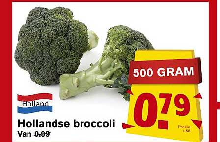 Hoogvliet Hollandse Broccoli
