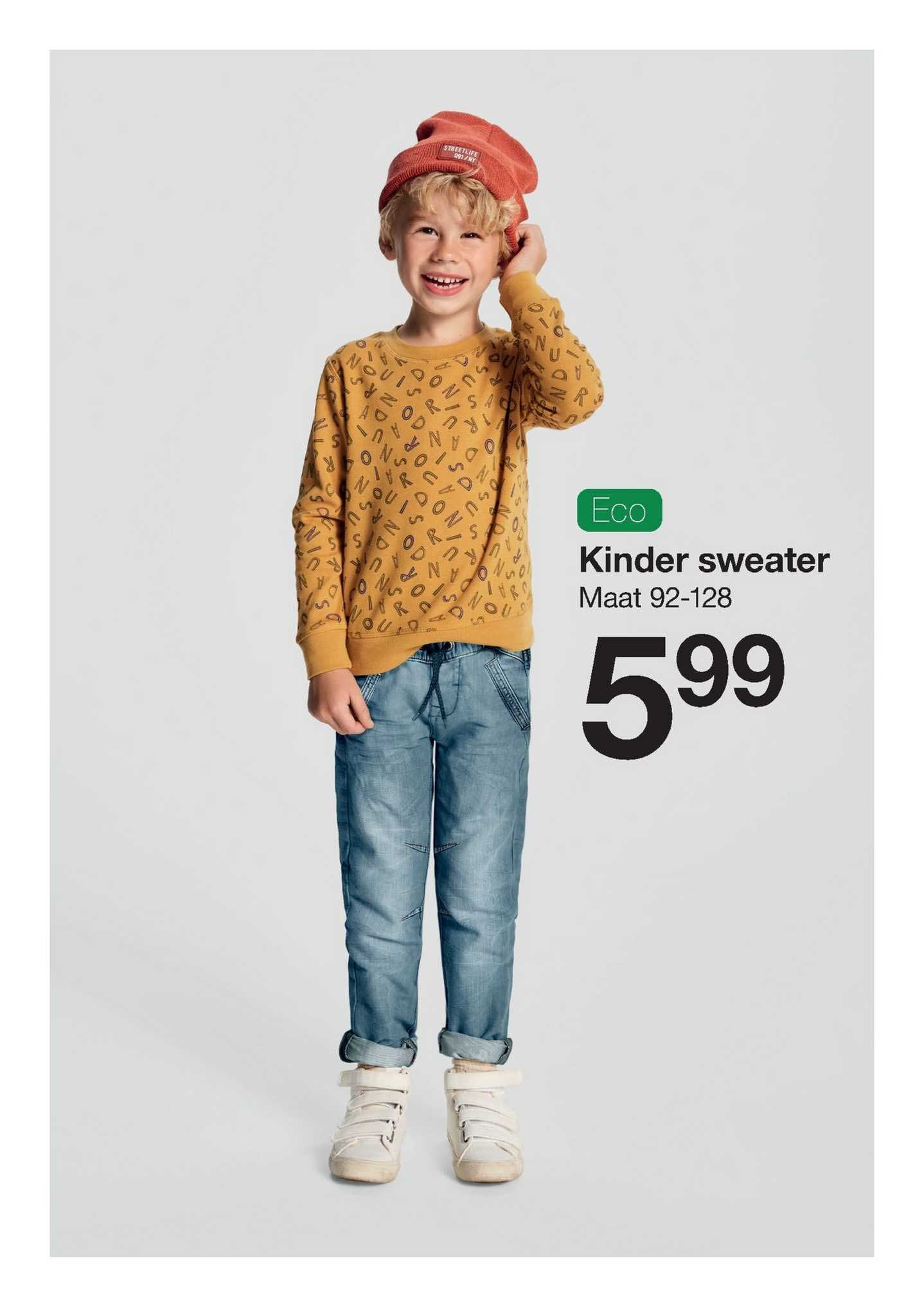 Zeeman Kinder Sweater