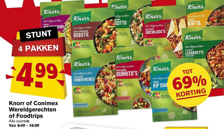 Hoogvliet Knorr Of Conimex Wereldgerechten Of Foodtrips Tot 69% Korting