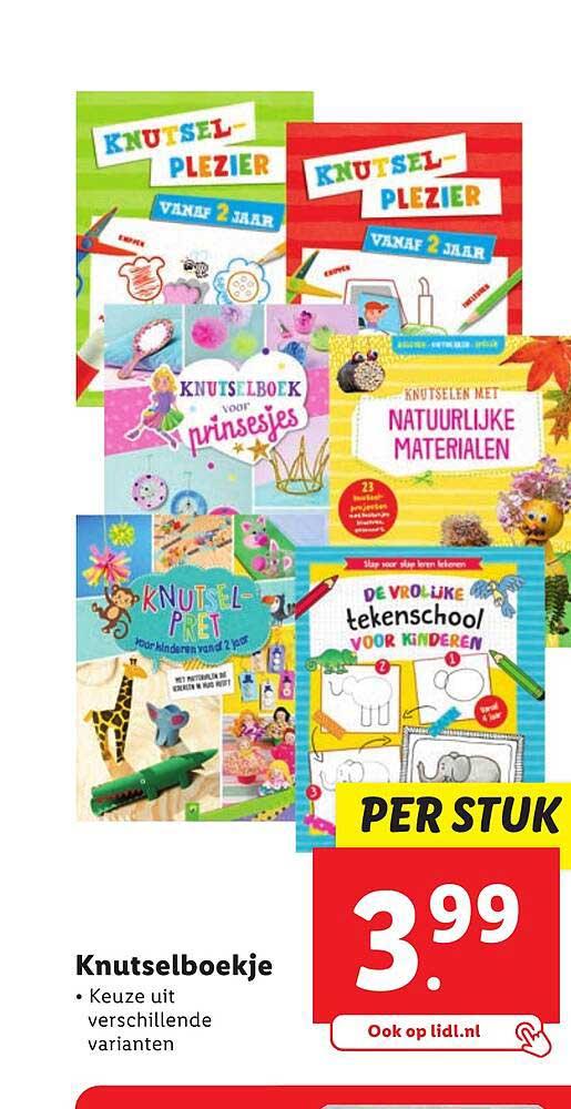 Lidl Knutselboekje