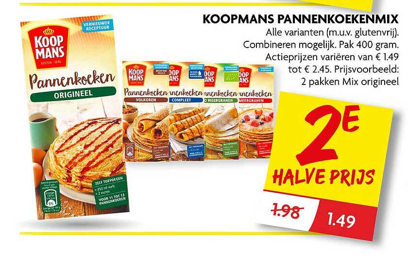 DekaMarkt Koopmans Pannenkoekenmix