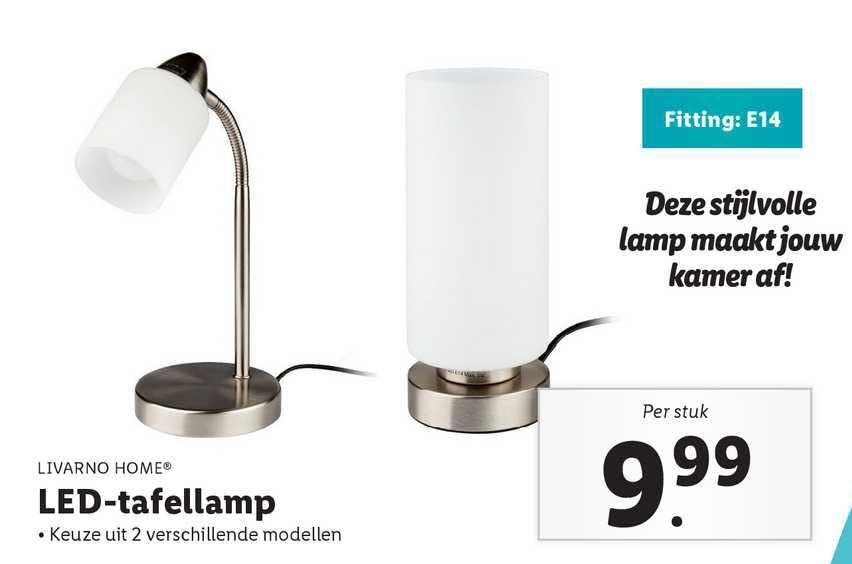 Lidl Livarno Home® LED-Tafellamp