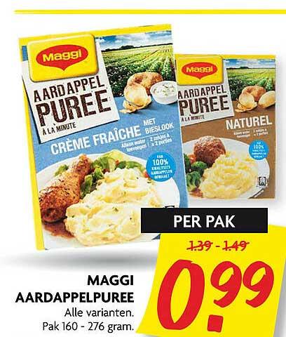 DekaMarkt Maggi Aardappelpuree