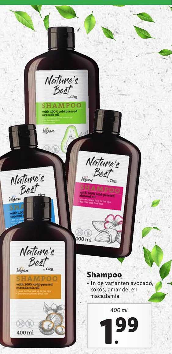 Lidl Nature's Best Shampoo