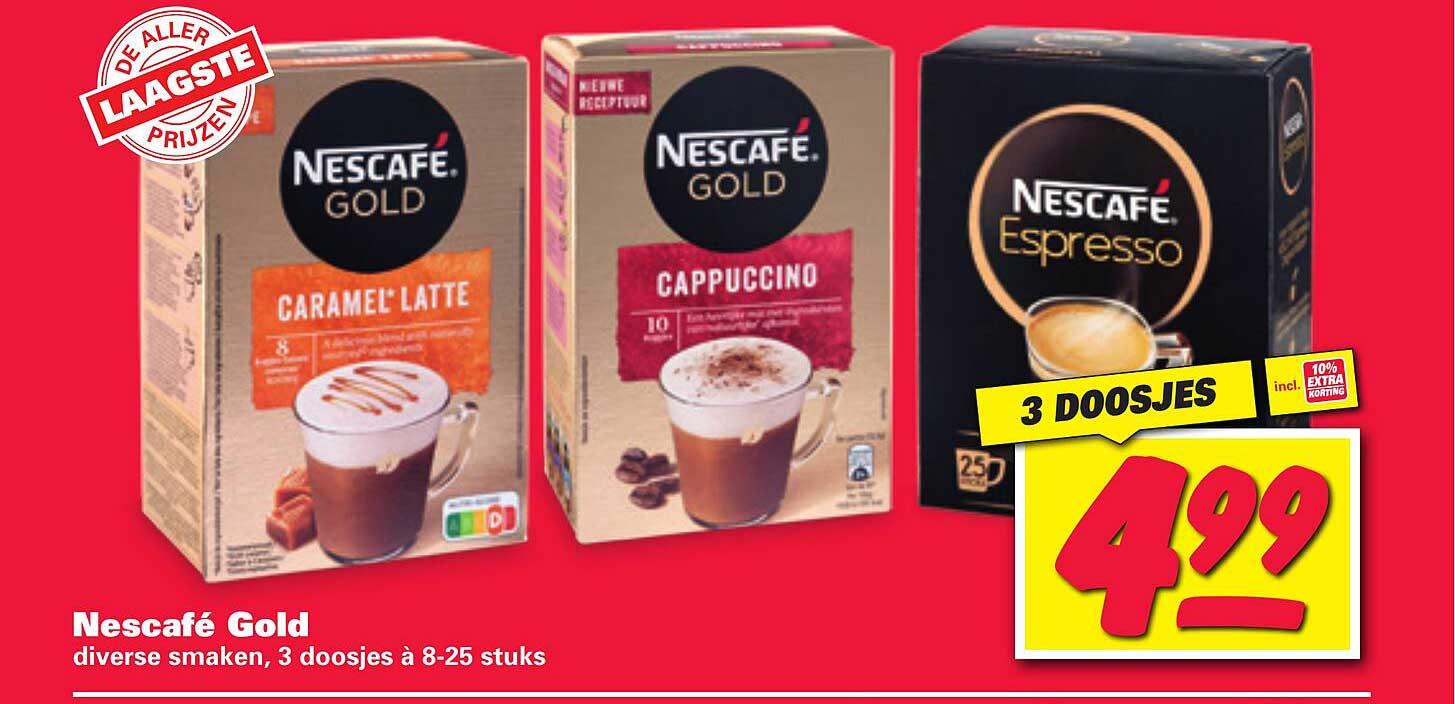 Nettorama Nescafé Gold