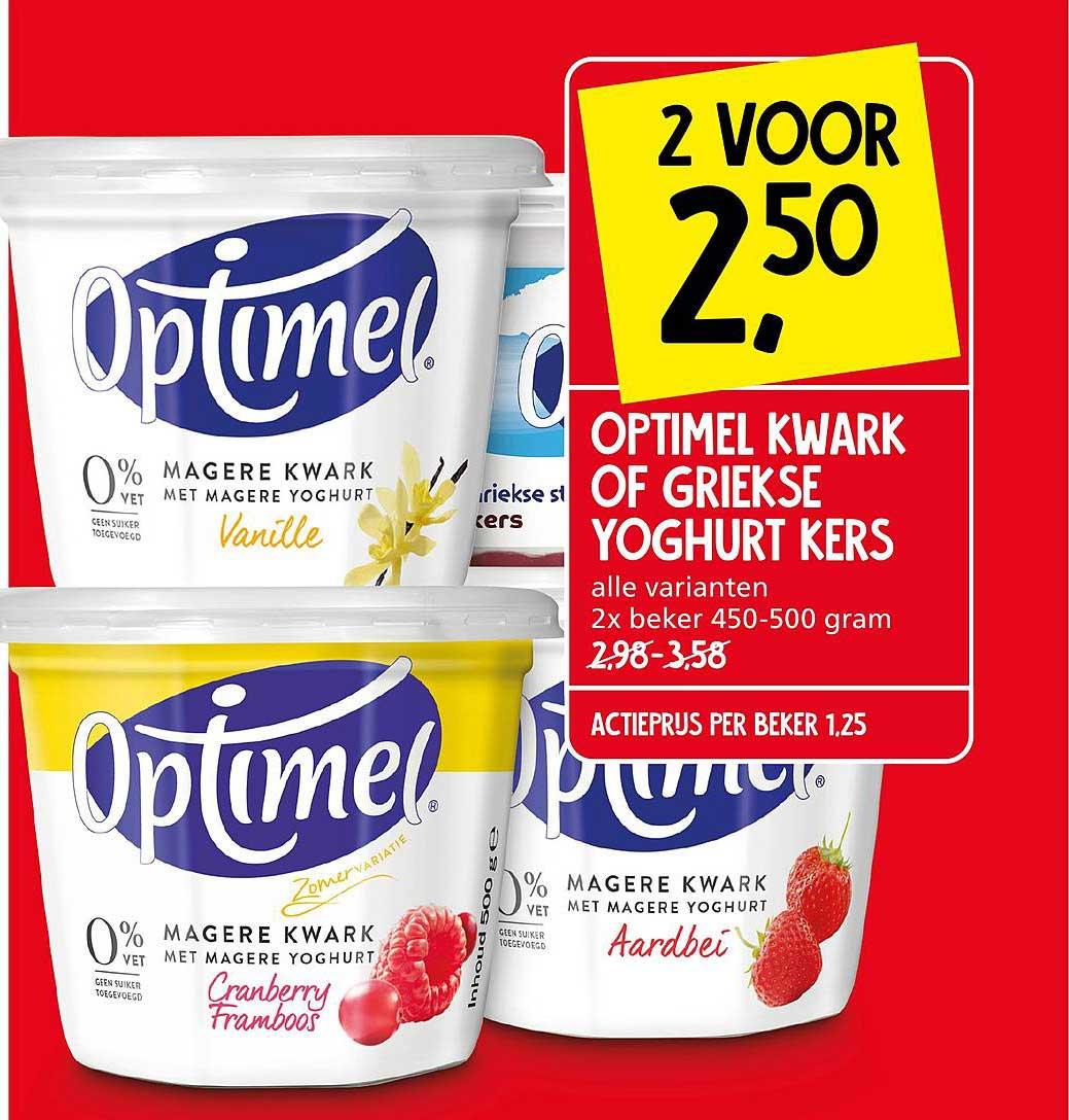 Jan Linders Optimel Kwakr Of Griekse Yoghurt Kers