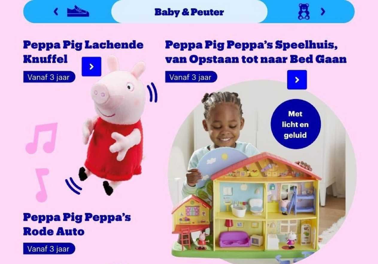Bol.com Peppa Pig Lachende Of Peppa Pig Peppa's Speelhuis, Van Opstaan Tot Naar Bed Gaan