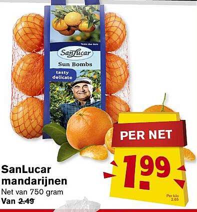 Hoogvliet SanLucar Mandarijnen