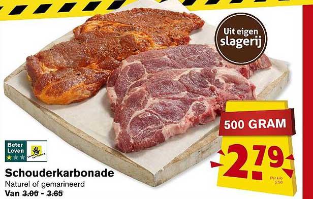 Hoogvliet Schouderkarbonade