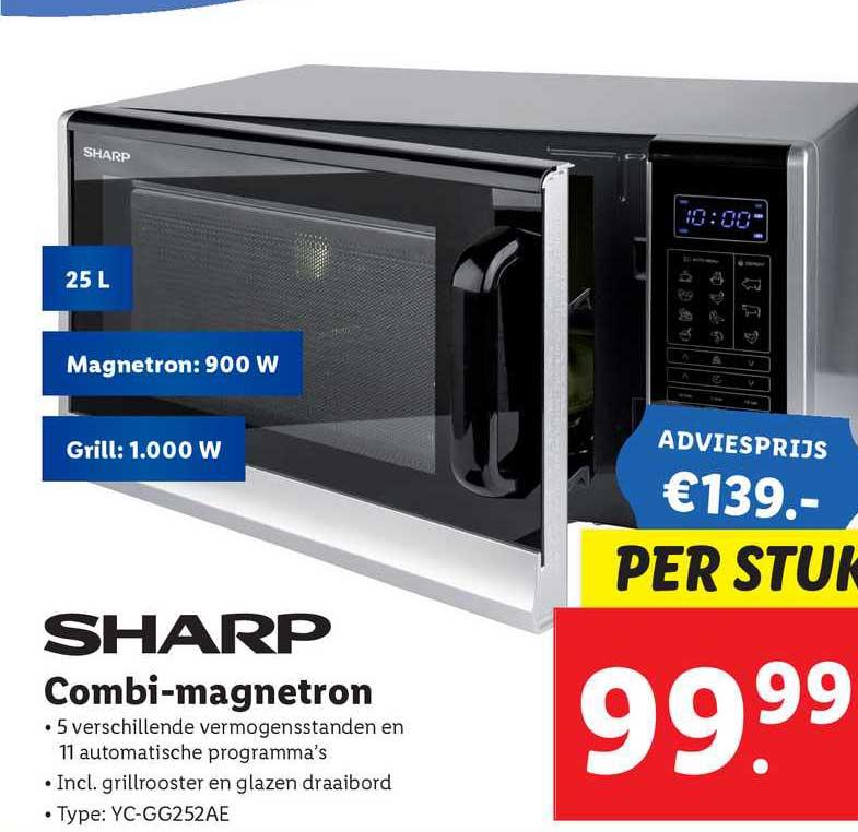Lidl Sharp Combi-Magnetron