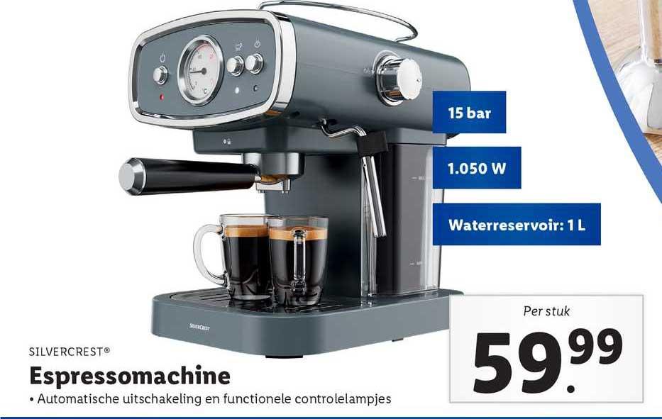 Lidl Silvercrest® Espressomachine