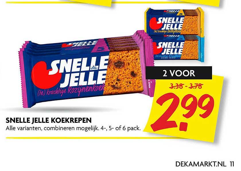 DekaMarkt Snelle Jelle Koekrepen