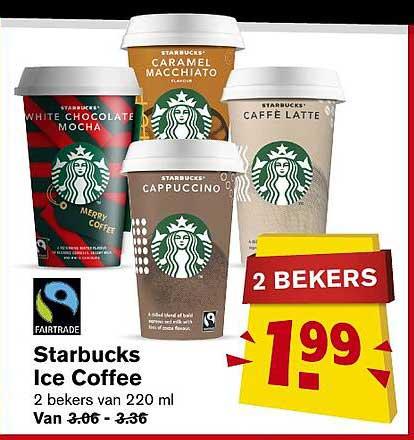 Hoogvliet Starbucks Ice Coffee