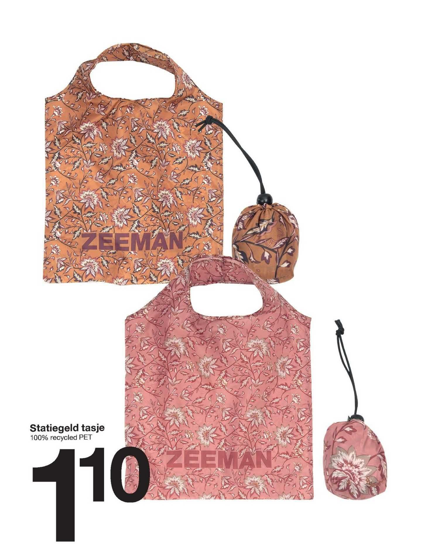Zeeman Statiegeld Tasje