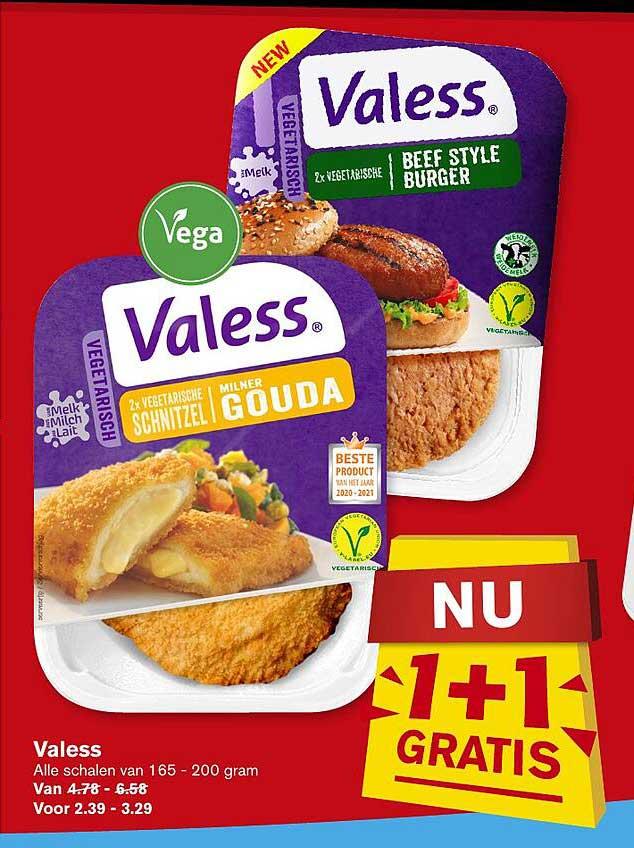 Hoogvliet Valess 1+1 Gratis