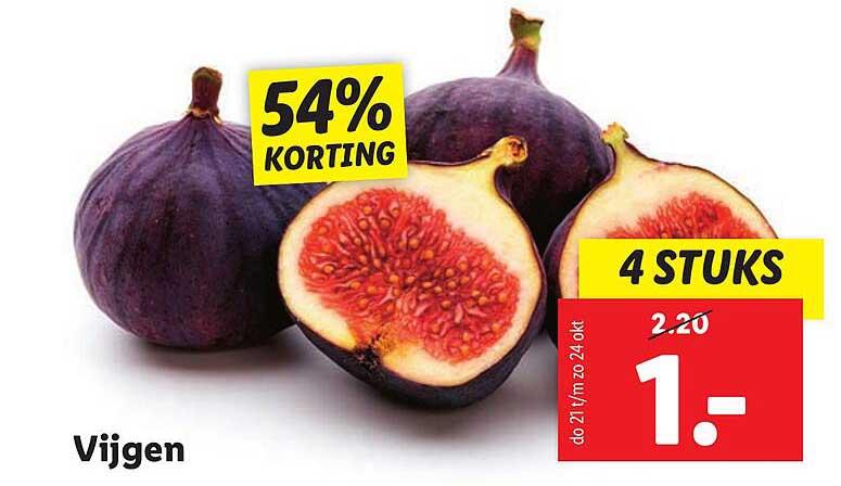 Lidl Vijgen 54% Korting