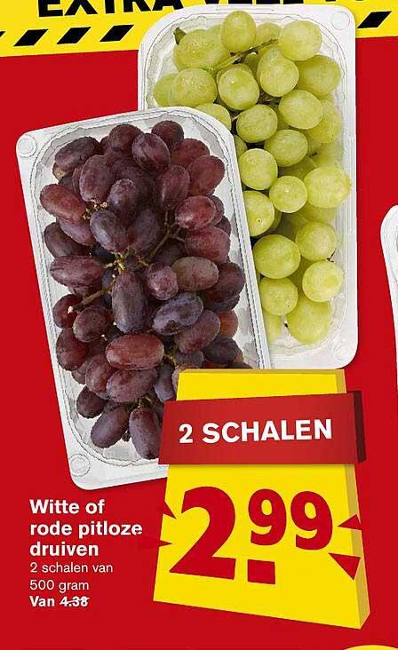 Hoogvliet Witte Of Rode Pitloze Druiven