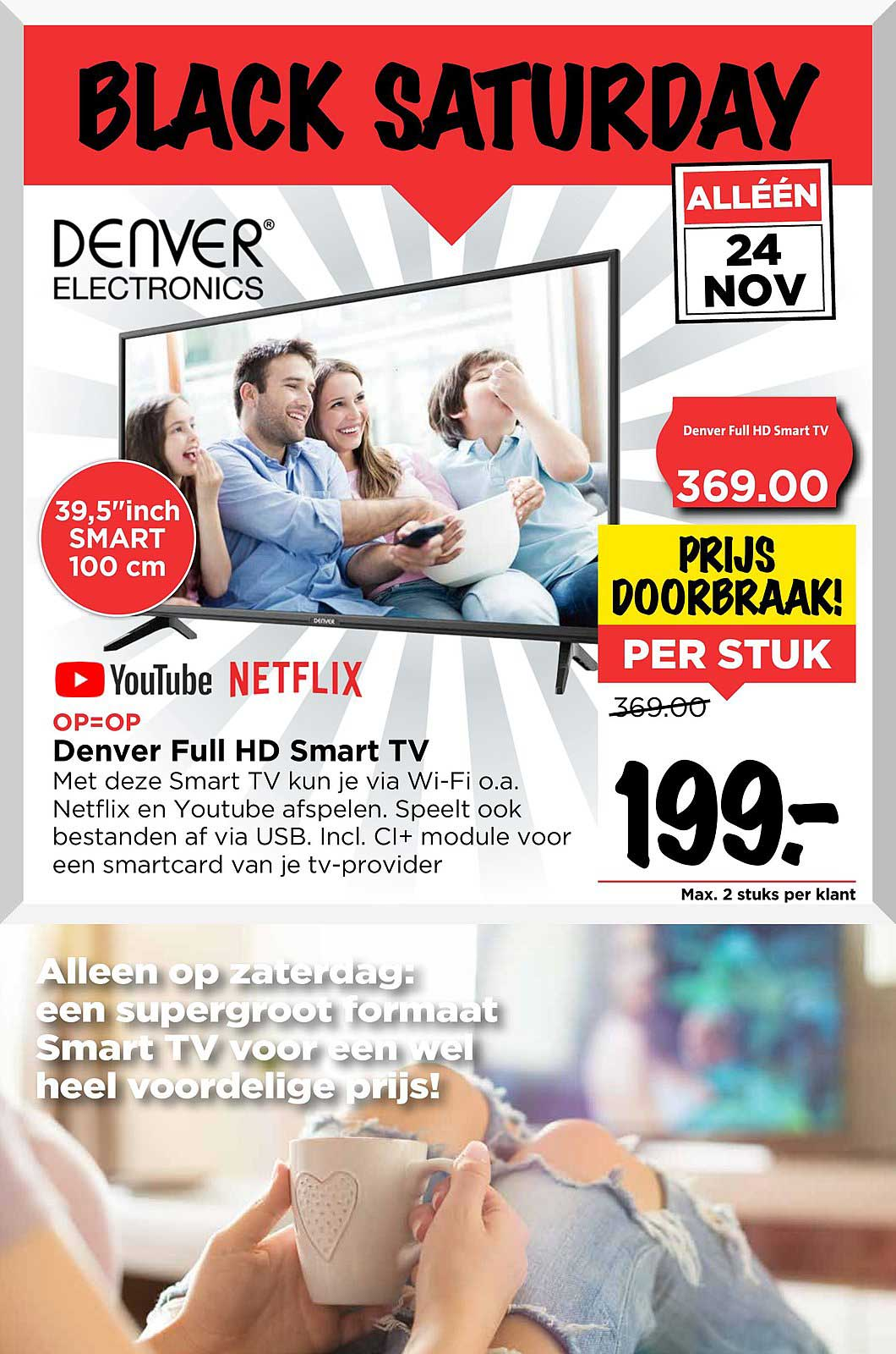Vomar Denver Full Hd Smart Tv