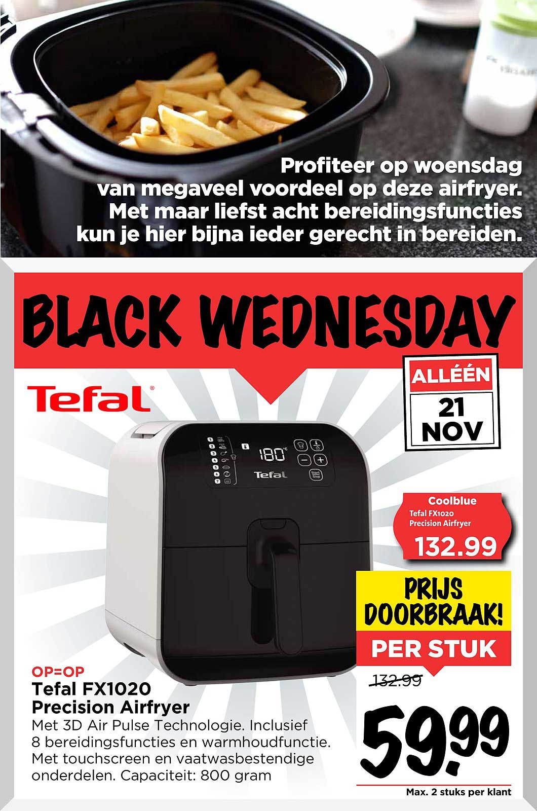 Vomar Tefal FX1020 Precision Airfryer