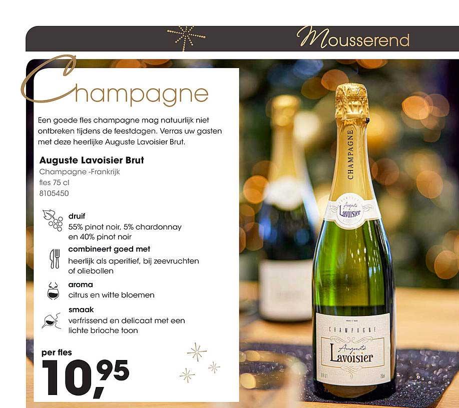 HANOS Auguste Lavoisier Brut Champagne - Frankrijk