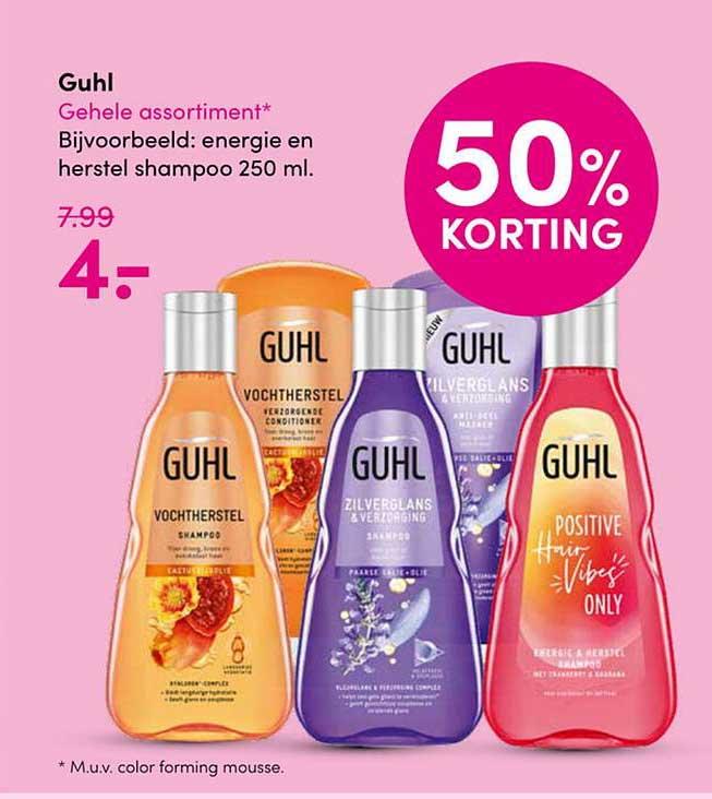 Drogisterij Visser Guhl 50% Korting