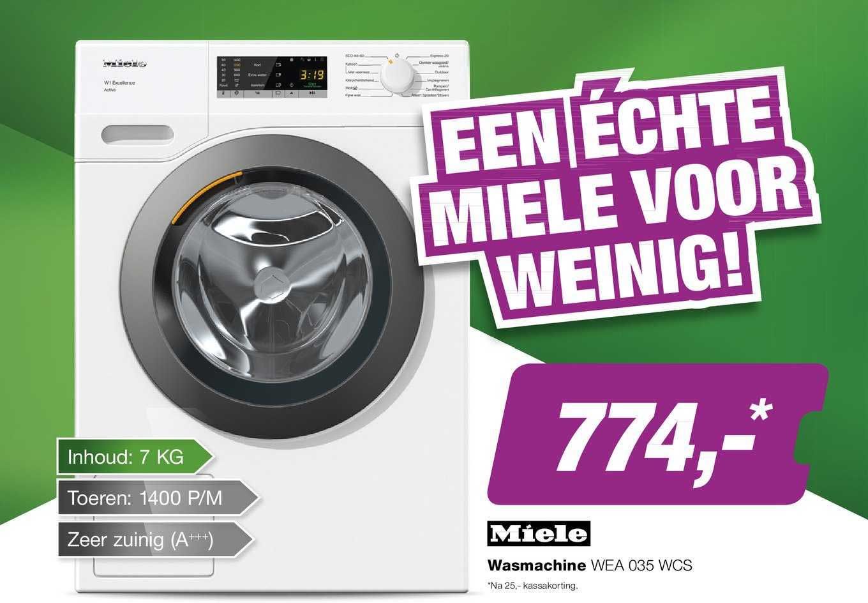 EP Miele Wasmachine WEA 035 WCS