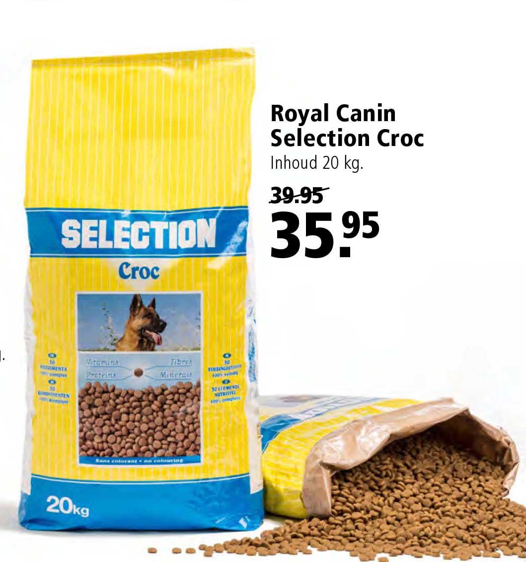 Welkoop Royal Canin Selection Croc 20 Kg: €35,95